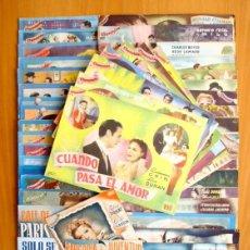 Cine: CINEVIDA - LOTE DE 47 EJEMPLARES DIFERENTES -EDITORIAL HISPANO AMERICANA -VER DENTRO FOTOS Y TITULOS. Lote 56797577