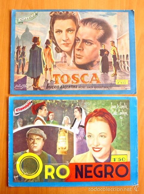 Cine: Cinevida - Lote de 47 ejemplares diferentes -Editorial Hispano Americana -Ver dentro fotos y titulos - Foto 2 - 56797577