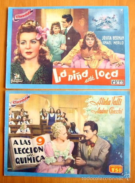 Cine: Cinevida - Lote de 47 ejemplares diferentes -Editorial Hispano Americana -Ver dentro fotos y titulos - Foto 6 - 56797577