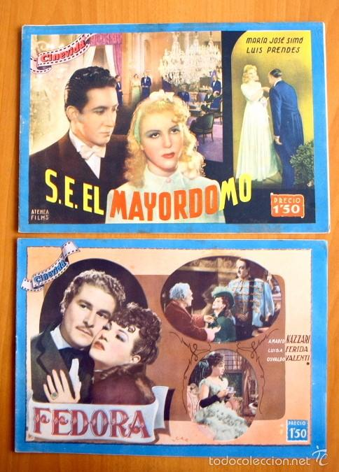 Cine: Cinevida - Lote de 47 ejemplares diferentes -Editorial Hispano Americana -Ver dentro fotos y titulos - Foto 8 - 56797577