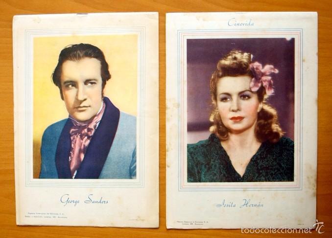 Cine: Cinevida - Lote de 47 ejemplares diferentes -Editorial Hispano Americana -Ver dentro fotos y titulos - Foto 9 - 56797577