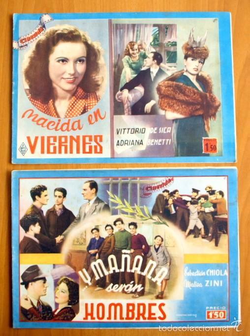 Cine: Cinevida - Lote de 47 ejemplares diferentes -Editorial Hispano Americana -Ver dentro fotos y titulos - Foto 10 - 56797577