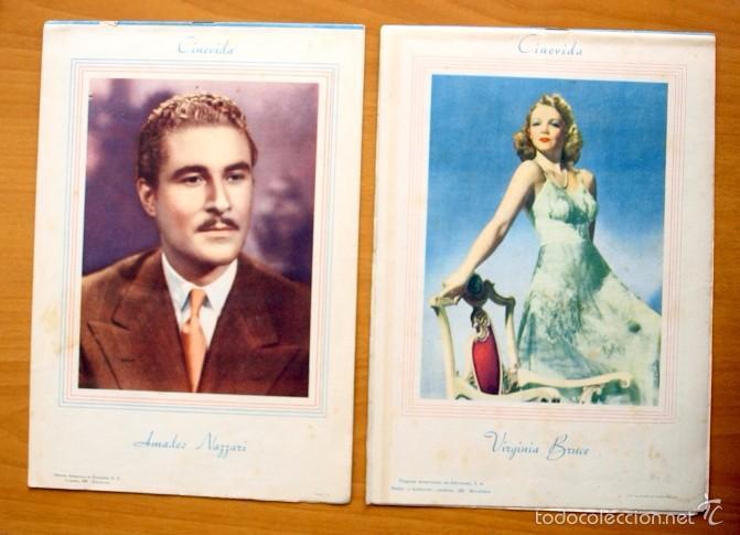 Cine: Cinevida - Lote de 47 ejemplares diferentes -Editorial Hispano Americana -Ver dentro fotos y titulos - Foto 11 - 56797577
