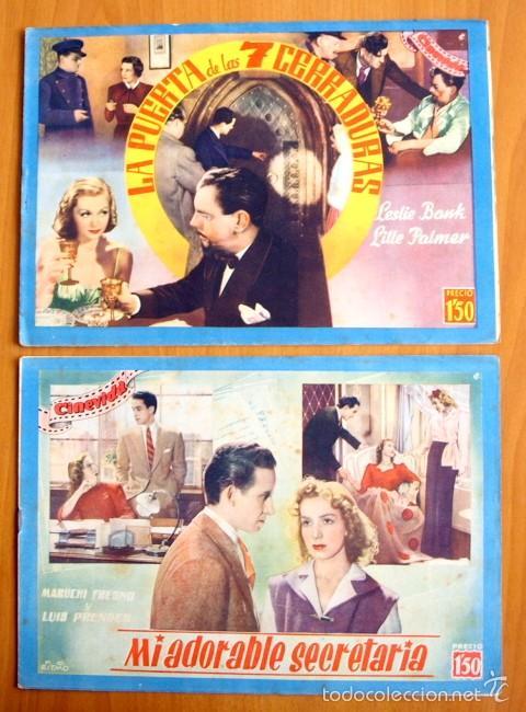 Cine: Cinevida - Lote de 47 ejemplares diferentes -Editorial Hispano Americana -Ver dentro fotos y titulos - Foto 12 - 56797577