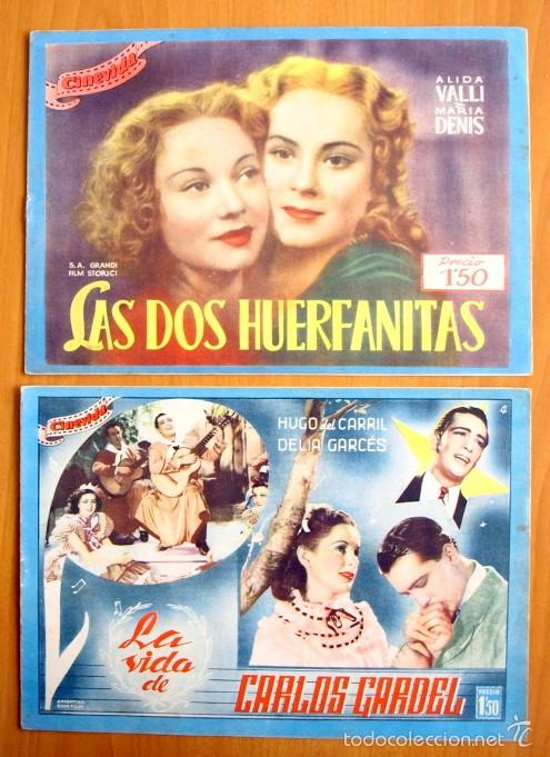 Cine: Cinevida - Lote de 47 ejemplares diferentes -Editorial Hispano Americana -Ver dentro fotos y titulos - Foto 14 - 56797577