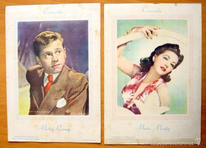 Cine: Cinevida - Lote de 47 ejemplares diferentes -Editorial Hispano Americana -Ver dentro fotos y titulos - Foto 15 - 56797577