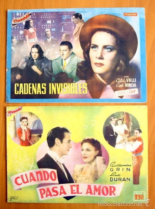 Cine: Cinevida - Lote de 47 ejemplares diferentes -Editorial Hispano Americana -Ver dentro fotos y titulos - Foto 16 - 56797577