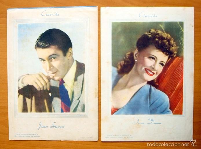 Cine: Cinevida - Lote de 47 ejemplares diferentes -Editorial Hispano Americana -Ver dentro fotos y titulos - Foto 17 - 56797577