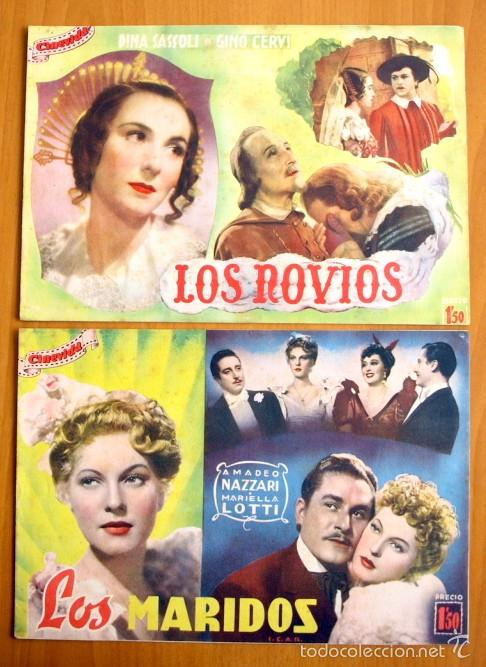 Cine: Cinevida - Lote de 47 ejemplares diferentes -Editorial Hispano Americana -Ver dentro fotos y titulos - Foto 18 - 56797577
