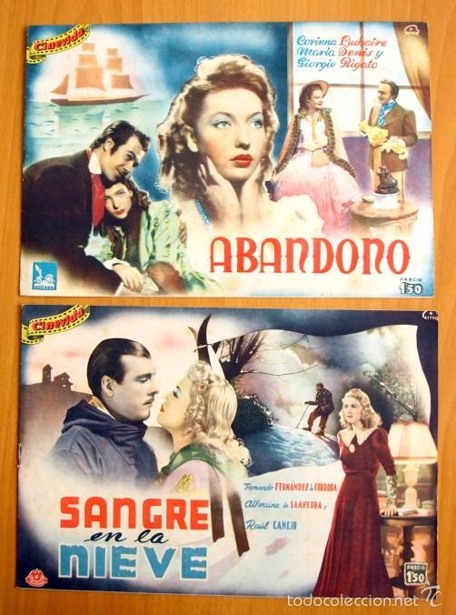 Cine: Cinevida - Lote de 47 ejemplares diferentes -Editorial Hispano Americana -Ver dentro fotos y titulos - Foto 26 - 56797577