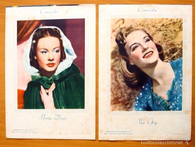 Cine: Cinevida - Lote de 47 ejemplares diferentes -Editorial Hispano Americana -Ver dentro fotos y titulos - Foto 27 - 56797577