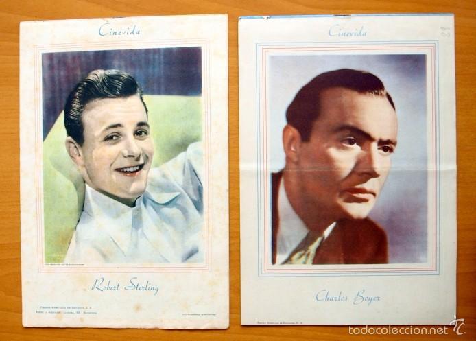 Cine: Cinevida - Lote de 47 ejemplares diferentes -Editorial Hispano Americana -Ver dentro fotos y titulos - Foto 29 - 56797577