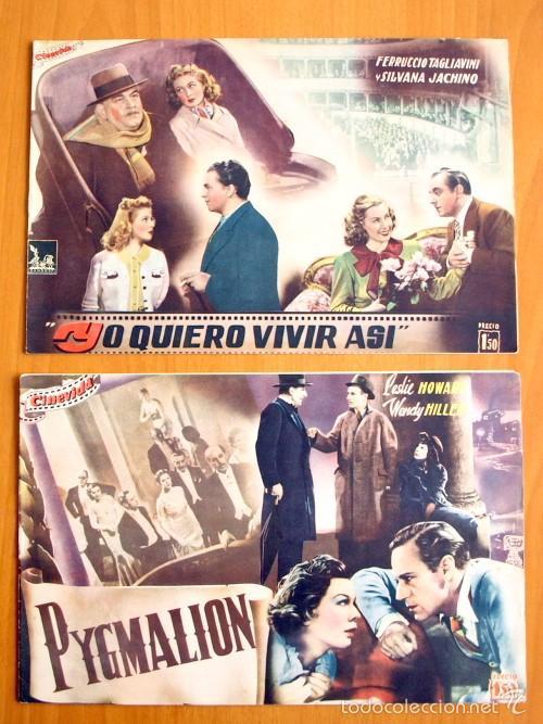 Cine: Cinevida - Lote de 47 ejemplares diferentes -Editorial Hispano Americana -Ver dentro fotos y titulos - Foto 30 - 56797577