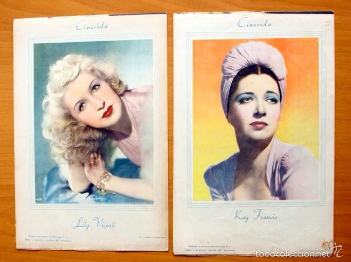 Cine: Cinevida - Lote de 47 ejemplares diferentes -Editorial Hispano Americana -Ver dentro fotos y titulos - Foto 31 - 56797577