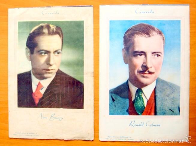 Cine: Cinevida - Lote de 47 ejemplares diferentes -Editorial Hispano Americana -Ver dentro fotos y titulos - Foto 33 - 56797577