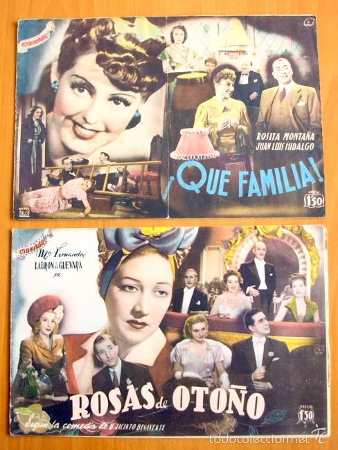 Cine: Cinevida - Lote de 47 ejemplares diferentes -Editorial Hispano Americana -Ver dentro fotos y titulos - Foto 36 - 56797577
