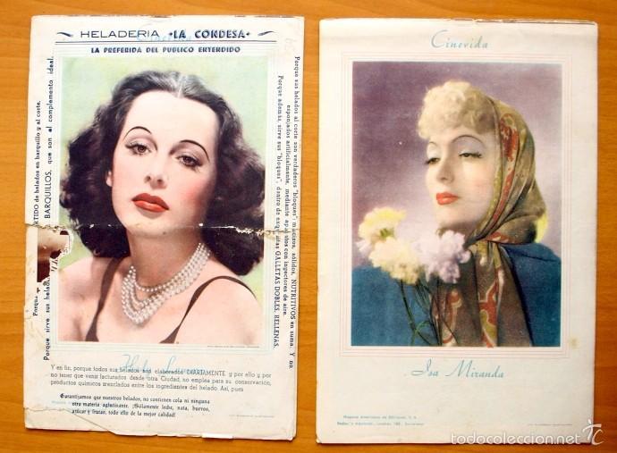 Cine: Cinevida - Lote de 47 ejemplares diferentes -Editorial Hispano Americana -Ver dentro fotos y titulos - Foto 39 - 56797577