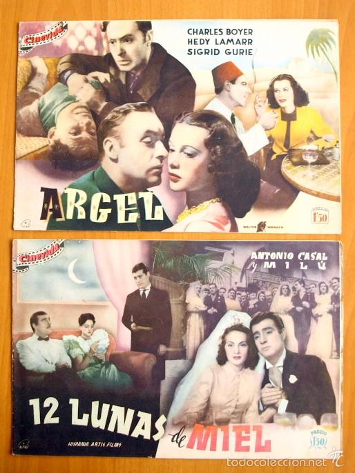 Cine: Cinevida - Lote de 47 ejemplares diferentes -Editorial Hispano Americana -Ver dentro fotos y titulos - Foto 42 - 56797577