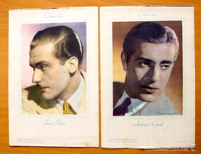 Cine: Cinevida - Lote de 47 ejemplares diferentes -Editorial Hispano Americana -Ver dentro fotos y titulos - Foto 43 - 56797577