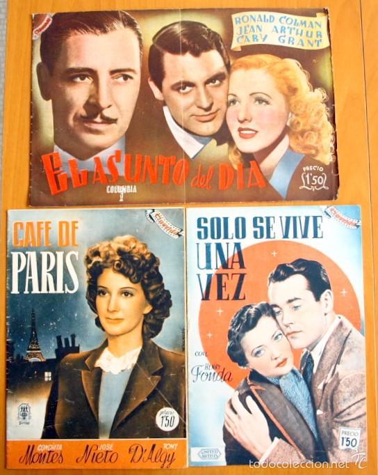 Cine: Cinevida - Lote de 47 ejemplares diferentes -Editorial Hispano Americana -Ver dentro fotos y titulos - Foto 44 - 56797577