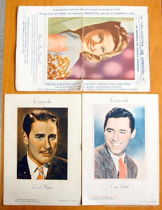 Cine: Cinevida - Lote de 47 ejemplares diferentes -Editorial Hispano Americana -Ver dentro fotos y titulos - Foto 45 - 56797577