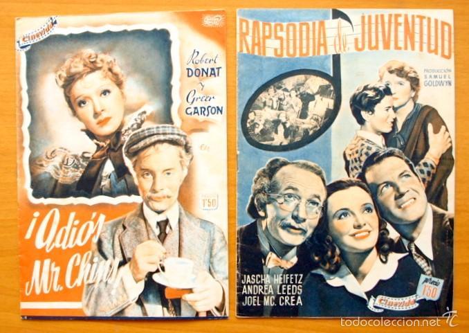 Cine: Cinevida - Lote de 47 ejemplares diferentes -Editorial Hispano Americana -Ver dentro fotos y titulos - Foto 46 - 56797577