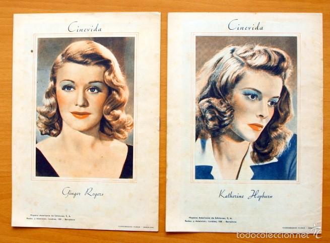 Cine: Cinevida - Lote de 47 ejemplares diferentes -Editorial Hispano Americana -Ver dentro fotos y titulos - Foto 47 - 56797577