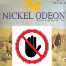 Cine: REVISTAS NICKEL ODEON - (NO COMPRAR) LEER LISTADO. Lote 65807327