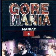 Cinéma: GOREMANÍA 9 FASCÍCULO MANIAC. Lote 56841350