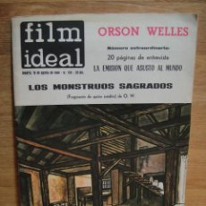 Cine: FILM IDEAL Nº 150 - Nº EXTRAORDINARIO ORSON WELLS. Lote 56847523