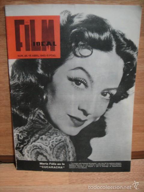 FILM IDEAL Nº 46 - AÑO 1960 (Cine - Revistas - Film Ideal)