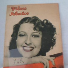 Cine: J. MAC DONALD - CLAIRE TREVOR - CAROLE LOMBARD - ERROL FLYNN ... FILMS SELECTOS JUN 1936 -NUMERO 294. Lote 56955029