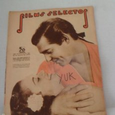 Cine: CLARK GABLE - HAROLD LLOYD - SHIRLEY TEMPLE ... FILMS SELECTOS MARZO 1936 - NUMERO 284. Lote 56955113