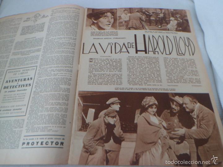Cine: CLARK GABLE - HAROLD LLOYD - SHIRLEY TEMPLE ... FILMS SELECTOS MARZO 1936 - NUMERO 284 - Foto 3 - 56955113