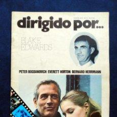 Cine: REVISTA DE CINE DIRIGIDO POR... BLAKE EDWARDS, Nº 11 MARZO 1974. Lote 57050312