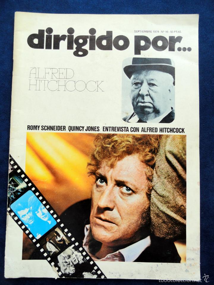 REVISTA DE CINE DIRIGIDO POR... ALFRED HITCHCOCK, Nº 16, SEPTIEMBRE 1974 (Cine - Revistas - Dirigido por)