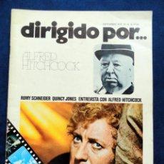 Cine: REVISTA DE CINE DIRIGIDO POR... ALFRED HITCHCOCK, Nº 16, SEPTIEMBRE 1974. Lote 57050353