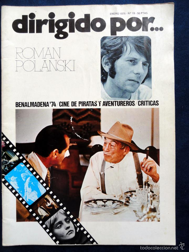 REVISTA DE CINE DIRIGIDO POR... ROMAN POLANSKY, Nº 19, ENERO 1975 (Cine - Revistas - Dirigido por)