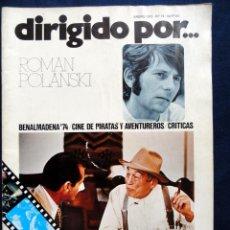 Cine: REVISTA DE CINE DIRIGIDO POR... ROMAN POLANSKY, Nº 19, ENERO 1975. Lote 57050373