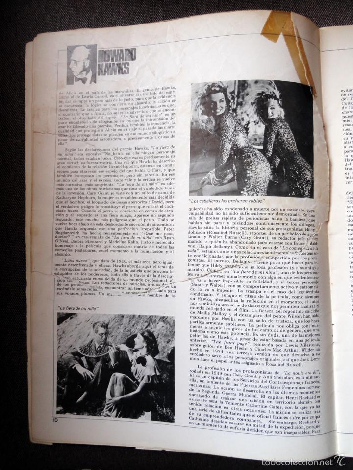 Cine: REVISTA DE CINE dirigido por... HOWARD HAWKS, nº 24, JUNIO 1975 - Foto 3 - 57050422