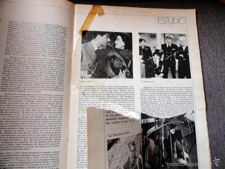 Cine: REVISTA DE CINE dirigido por... HOWARD HAWKS, nº 24, JUNIO 1975 - Foto 4 - 57050422
