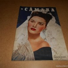 Cine: CAMARA. REVISTA CINEMATOGRÁFICA Nº 127 ABRIL 1948 MARY ELLEN GLEASON MICKEY ROONEY IMPERIO ARGENTINA. Lote 57074968