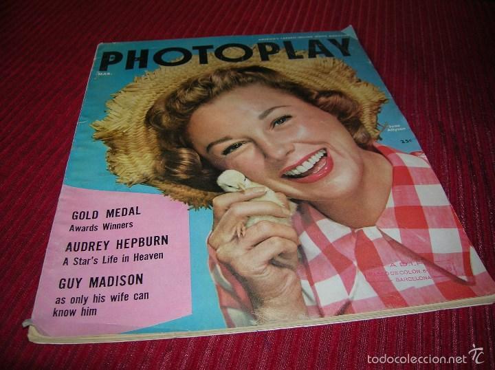 MUY INTERESANTE REVISTA AMERICANA PHOTOPLAY AÑO 1955 (Cine - Revistas - Cine Mundial)