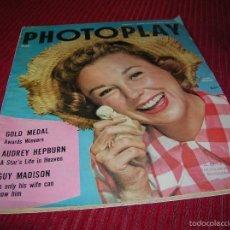 Cine: MUY INTERESANTE REVISTA AMERICANA PHOTOPLAY AÑO 1955. Lote 57159706