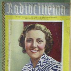 Cine: WU88 IMPERIO ARGENTINA RADIOCINEMA REVISTA ESPAÑOLA Nº EXTRAORDINARIO 1940. Lote 57161434