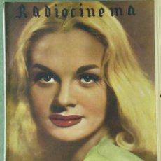 Cine: WU89 SYLVIA MORGAN RADIOCINEMA REVISTA ESPAÑOLA Nº 100 1944. Lote 57161484