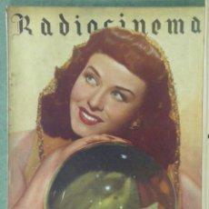 Cine: WU91 PAULETTE GODDARD RADIOCINEMA REVISTA ESPAÑOLA Nº 95 1943. Lote 170966937