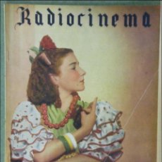 Cine: WU92 PILARIN CEREZO RADIOCINEMA REVISTA ESPAÑOLA Nº 99 1944. Lote 57161823