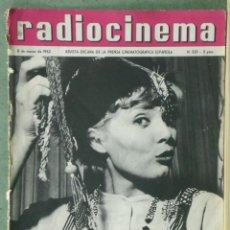 Cine: WU93 CORINNE MARCHAND RADIOCINEMA REVISTA ESPAÑOLA Nº 520 1962. Lote 57161926