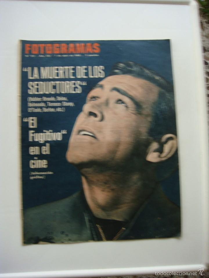 Cine: revista fotogramas nº 911, 1-04-1966, port. sean connery - Foto 1 - 57189913